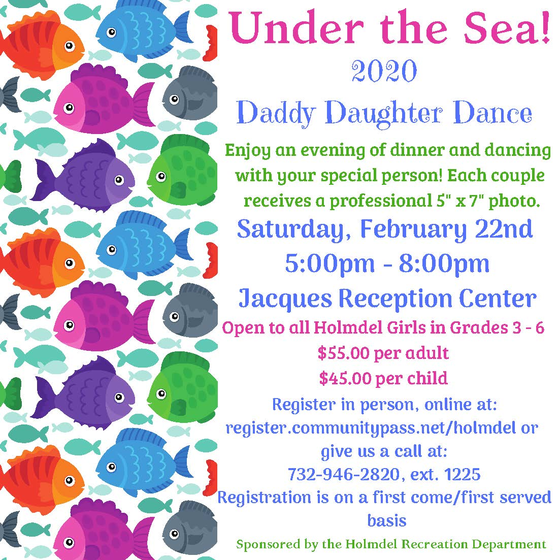 2020 Holmdel Recreation Daddy Daughter Dance